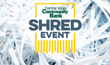 Central Valley Community Bank Shred Event